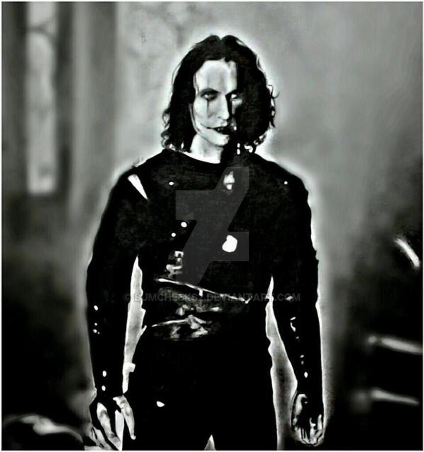 BRANDON LEE AS ERIC DRAVEN IN THE CROW by BUMCHEEKS2