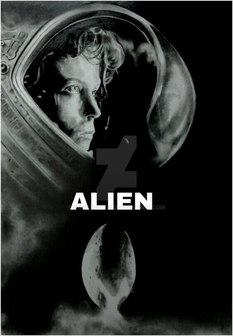 alien tribute movie poster by bumcheeks2 on deviantart. Black Bedroom Furniture Sets. Home Design Ideas
