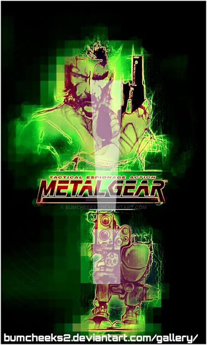 MSX METAL GEAR by BUMCHEEKS2