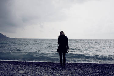 i'm an island of melancholy.