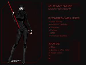 X-Girl Silent Shadow