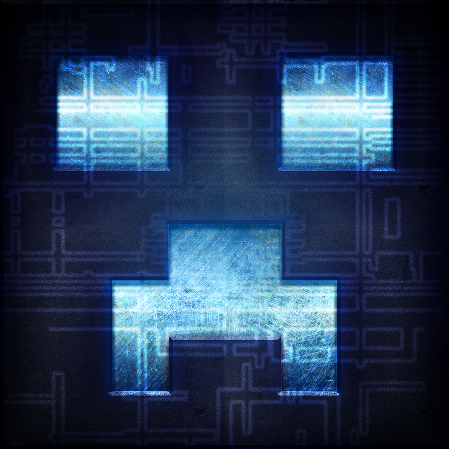 NeonnnMC's Creeper Logo by TheLadyClockWork