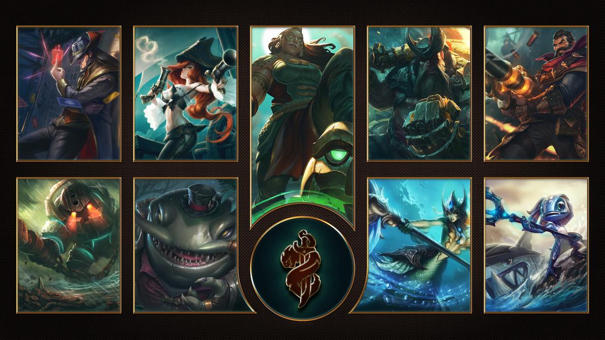 [League of Legends] Bilgewater Wallpaper by TheLadyClockWork