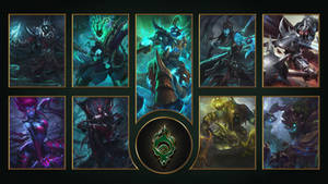 [League of Legends] Shadow Isles Wallpaper