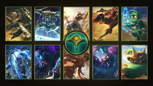 [League of Legends] Shurima Wallpaper
