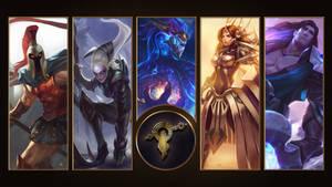 [League of Legends] Mount Targon Wallpaper