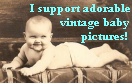 Vintage Babies Stamp by mouselady