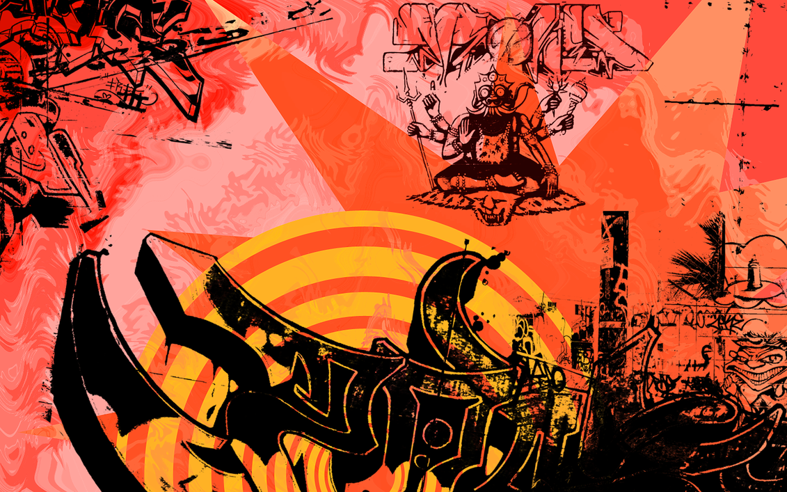 Best Wallpaper Music Graffiti Art - graffiti_wall_paper_by_dansgoingcrazy  HD_245598.png