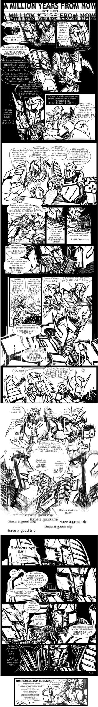 A Million Years From Now Comic Ratchet x Pharma by Aboshi