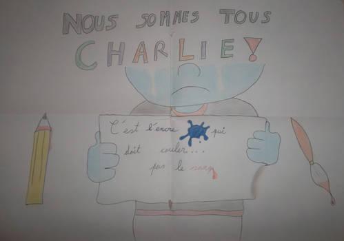 Nous sommes tous Charlie!!