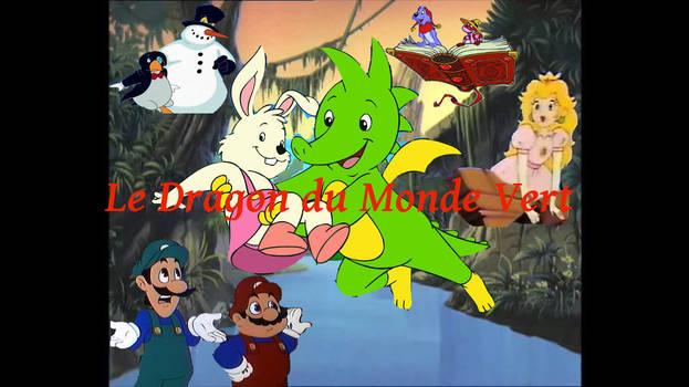 Le Dragon du Monde Vert affiche