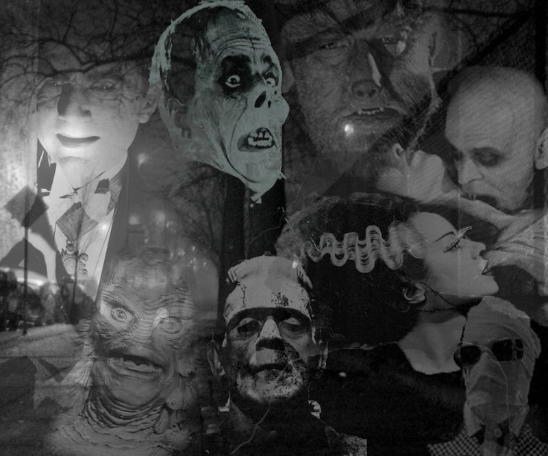 Classic Horror Monsters of Old Classic Horror Monsters Wallpaper