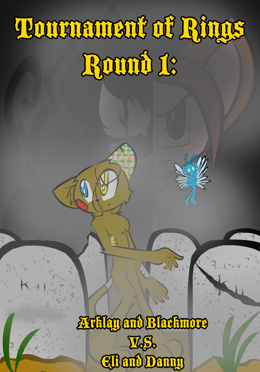 ToR Round One Cover by SHADOWFAN996