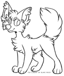    F2U TRANSPARENT PNG CANINE LINEART