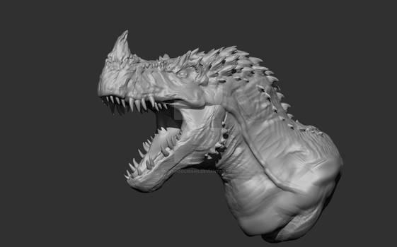 Genndy Tartakovskys Primal: Horned Tyrannosaur