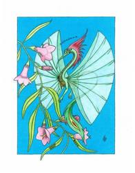 Humming Dragon by Furryhart