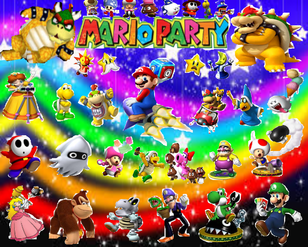 Mario Party Characters by LMan225 on DeviantArt