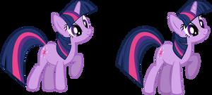 (Old vs New) Twilight Sparkle Vector