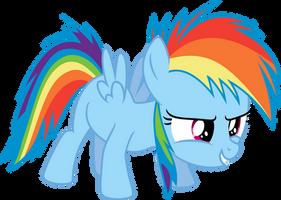 Rainbow Dash # 5 (50 watcher special) by LMan225