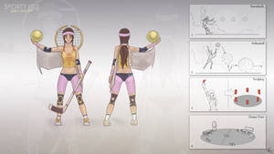 Sporty Isis - Skin Concept