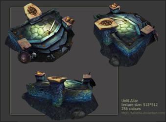 Unlit Altar For PSP by carocha