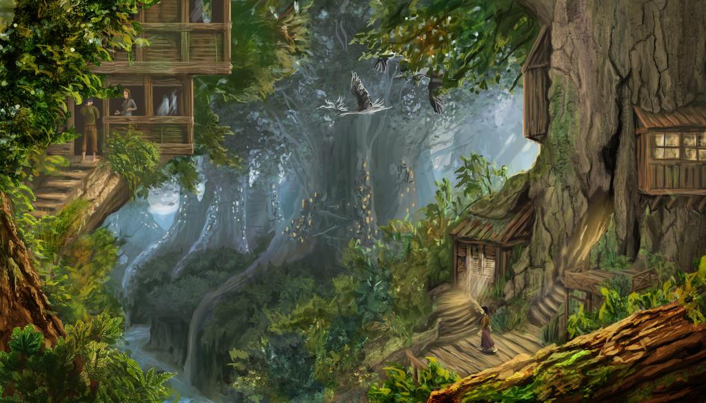 Forest3 Copy by carocha
