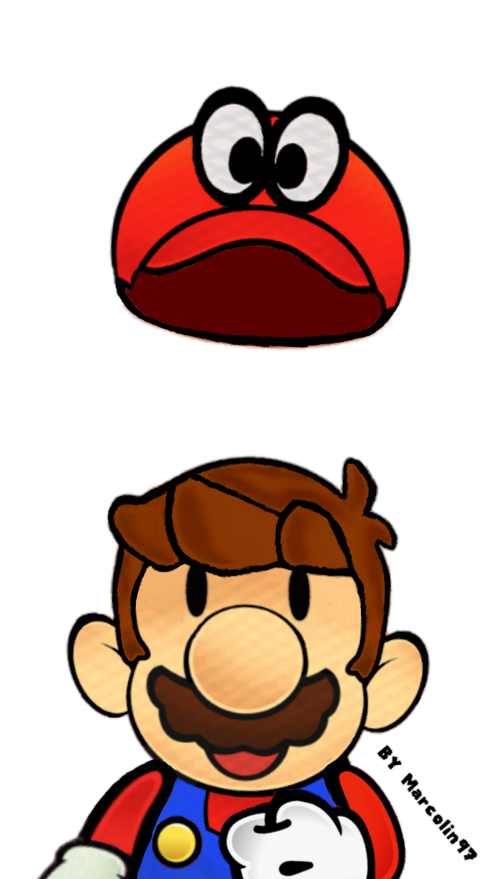 Paper Mario Odyssey By Marcolin97 On DeviantArt