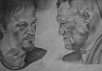 The Walking Dead ... Daryl - Merle by juli1612