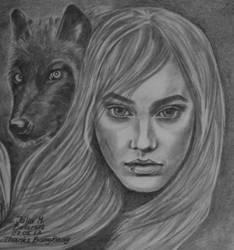 Girl - Wolf (fanfiction) by juli1612