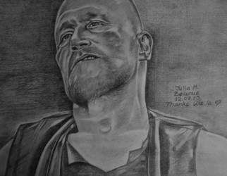 Michael Rooker...The Walking Dead - Merle Dixon by juli1612