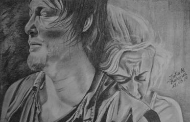 Daryl Dixon and Beth by juli1612