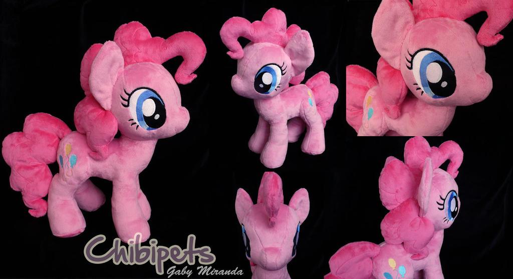 Pinkie Pie custom plush by Chibi-pets