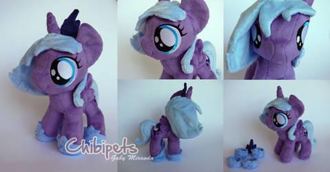 Filly Princess Luna custom plush by Chibi-pets