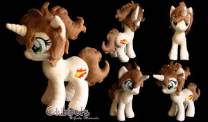 Rapid Fire Oc Custom Plush by Chibi-pets