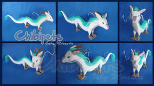 Haku Custom Plush by Chibi-pets