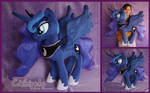 Princess Luna Custom Plush