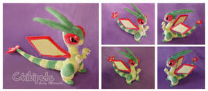 Flygon Custom plush by Chibi-pets
