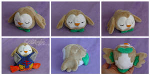 Rowlet Custom Plush