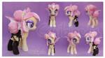 Bat Pony Sunset Sorbet Custom Plush