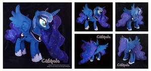 Princess Luna Custom Plush by Chibi-pets