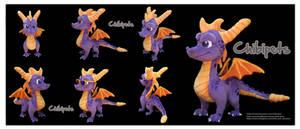 Spyro Reignited  Custom Plush