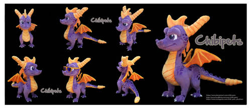 Spyro Reignited  Custom Plush