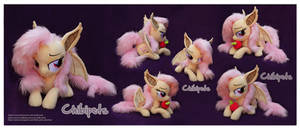 Laying Flutterbat Custom Plush