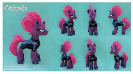 Tempest  Shadow  Custom Plush by Chibi-pets