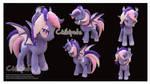 Midnight Mist Oc Pony Custom Plush