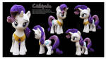 Rarity Handmade Custom Plush by Chibi-pets