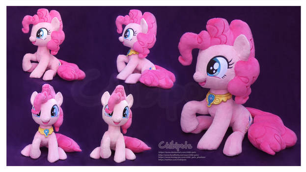 Pinkie Pie Handmade Custom Plush
