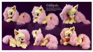 Flutterbat Laying Custom Plush