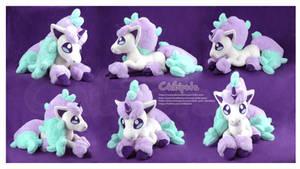 Ponyta Galar Handmade Custom Plush