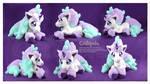 Ponyta Galar Handmade Custom Plush by Chibi-pets